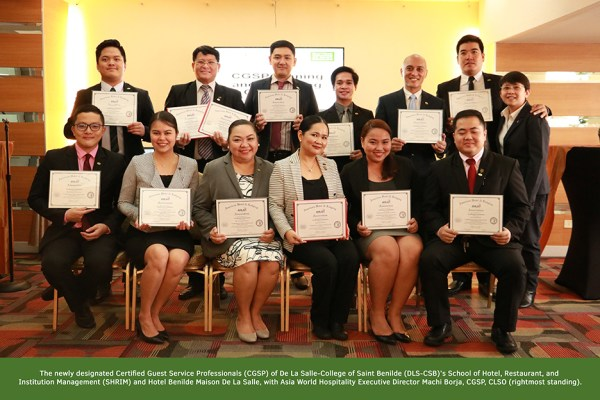 The American Hotel & Lodging Educational Institute recognizes hospitality educators