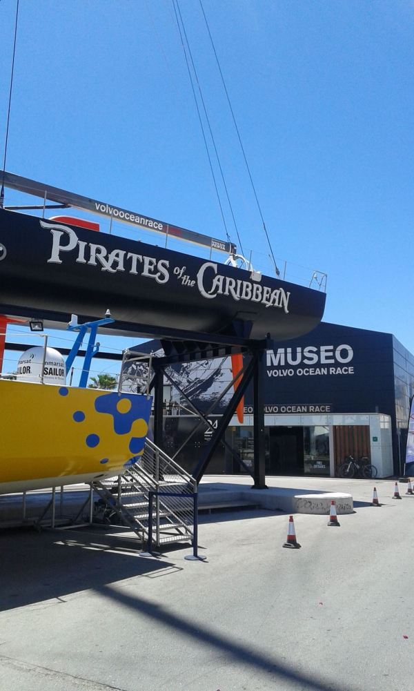 Volvo Ocean Race Museum via Alicante City FB Page