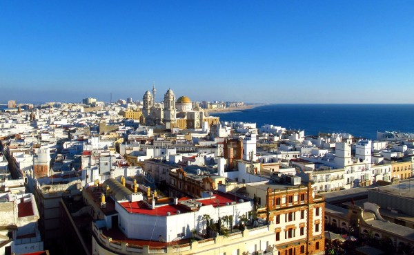 Cadiz Spain Old Town