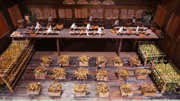 Diorama of Cigar Making in the Philippines