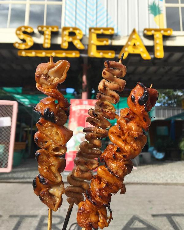Maginhawa's Famous Food Park - STReat (CTTO STReat's FB Page)