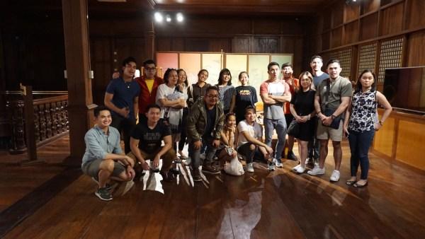Manila Travel Writers and Online Content Creators in Iloilo City
