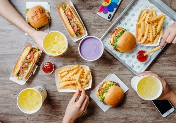The Manila menu of Shake Shack