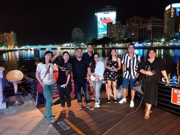 Travel Writers from the Philippines after the Gondola Ride Experience