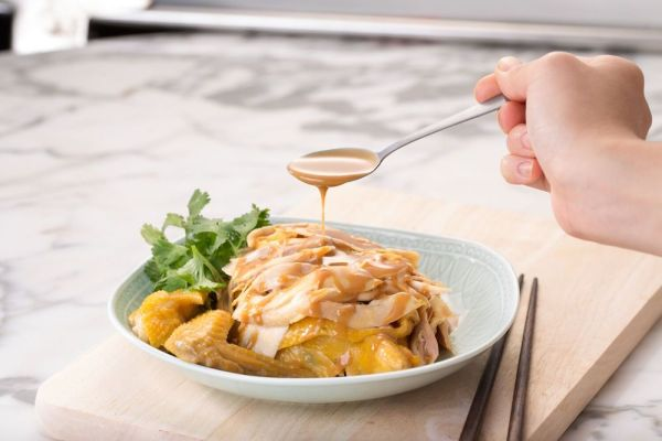 Hand-shredded Chicken with Sesame Sauce