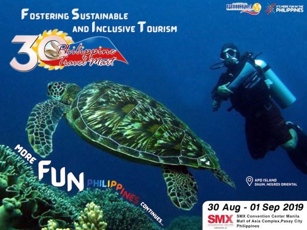 More Fun Apo Island Philippine Travel Mart 2019
