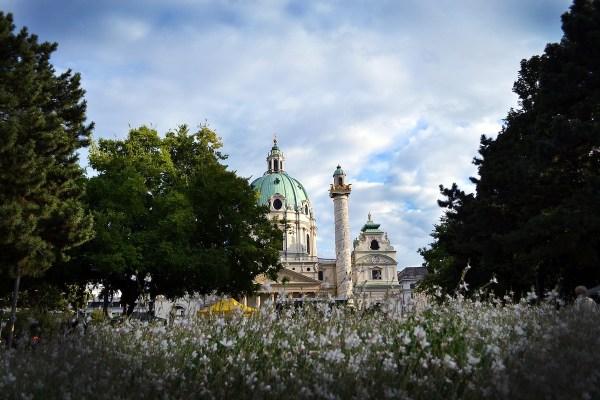 Spring in Vienna Austria