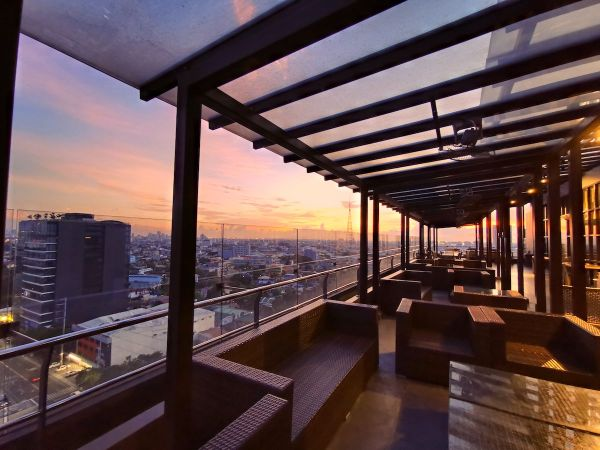 Sunset at RedDoorz Premium @ West Avenue Quezon City