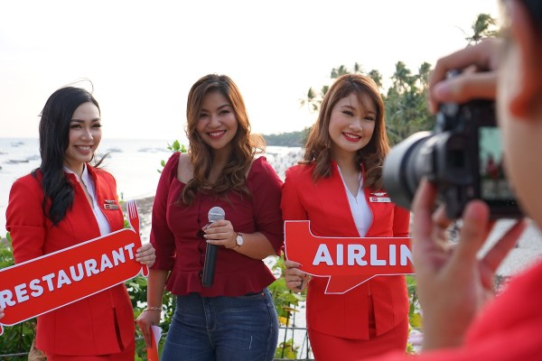 AirAsia Launch of newest Santan Menu