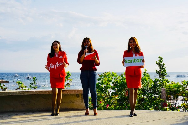 AirAsia reveals latest Santan menu in Amorita Resort Bohol
