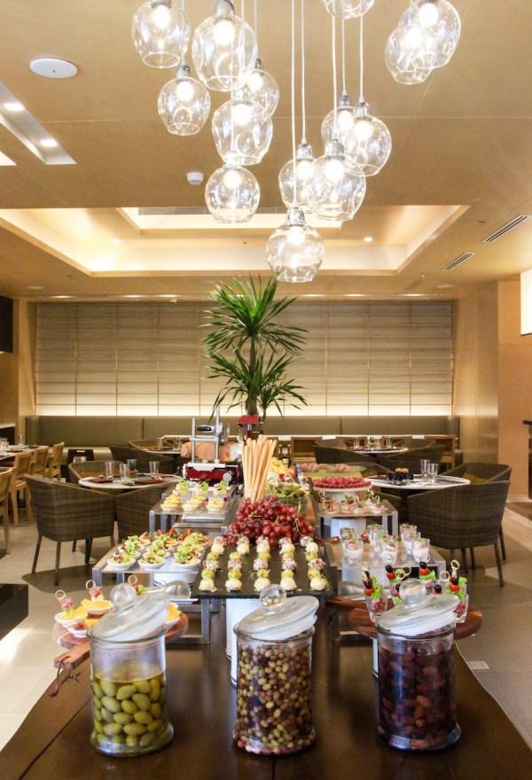 Appetizer Table in Misto at Seda BGC