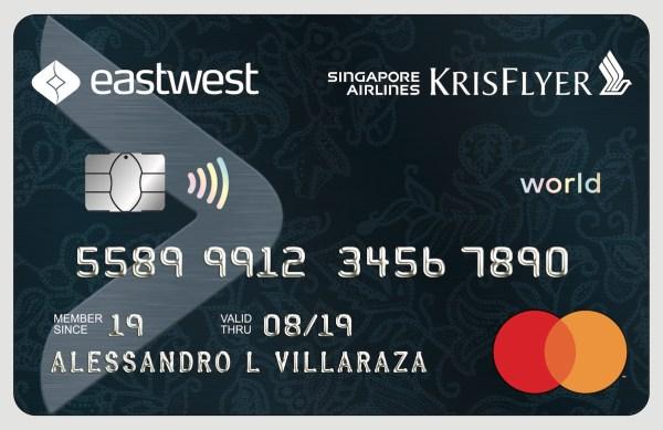 EastWest Singapore Airlines KrisFlyer World Mastercard
