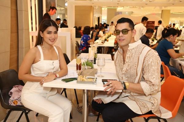 Janeena Chan and Raymond Gutierrez