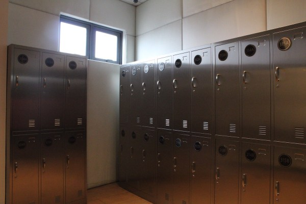 Lockers for guests