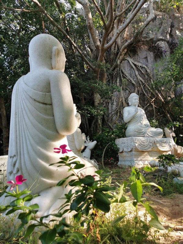Marble Buddha Sculptures