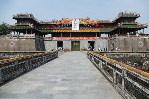 Meridian Gate in Hue Vietnam