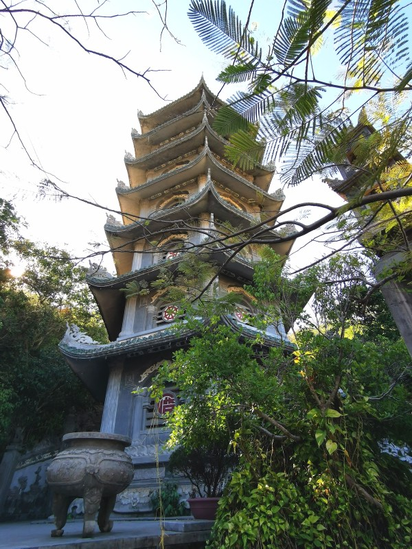 One of the Pagodas in Water Mountain