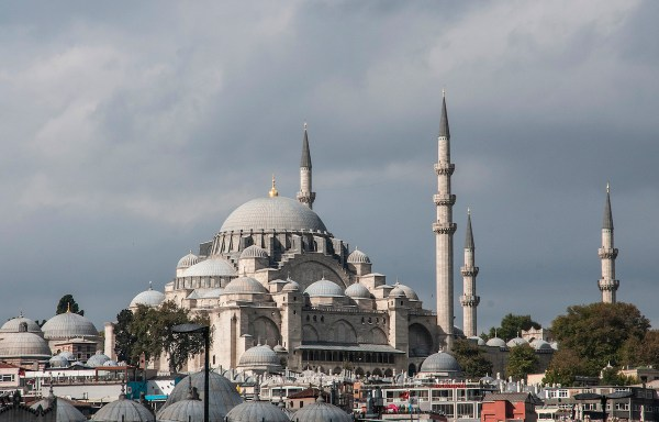 The New Mosque built in 1663 is an imposing structure near the Spice Market just across the ferry terminal and is one of Istanbul's most prominent mosques.