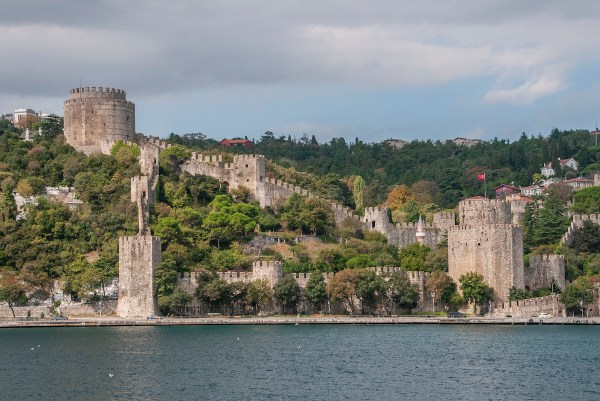 The still well-preserved Fortress of Europe.
