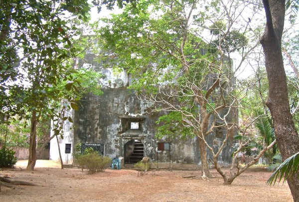 Pallipuram Fort photo by Challiyan via Wikipedia CC