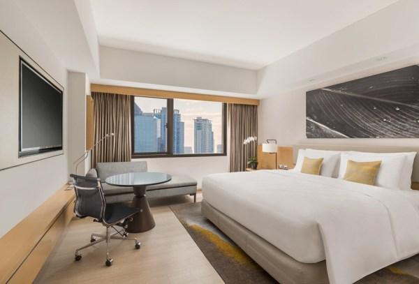 The new interior design of the rooms in Seda BGC