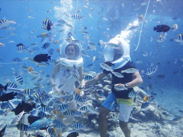Bali Seawalker photo via KLOOK