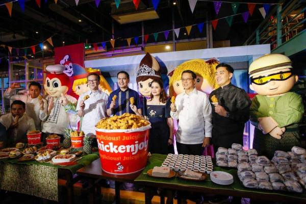 "Department of Tourism and Jollibee launch food tourism campaign ""Eats. More fun in the Philippines"" photo via DOT"
