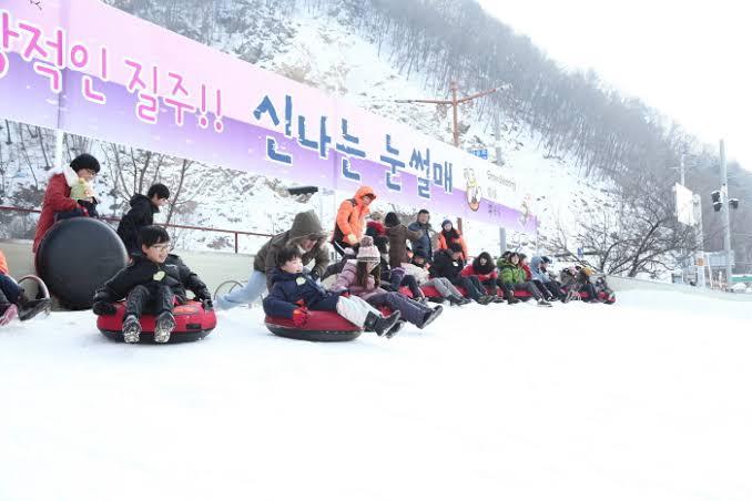 Hwacheon Sancheoneo Ice Festival photo via VisitKorea