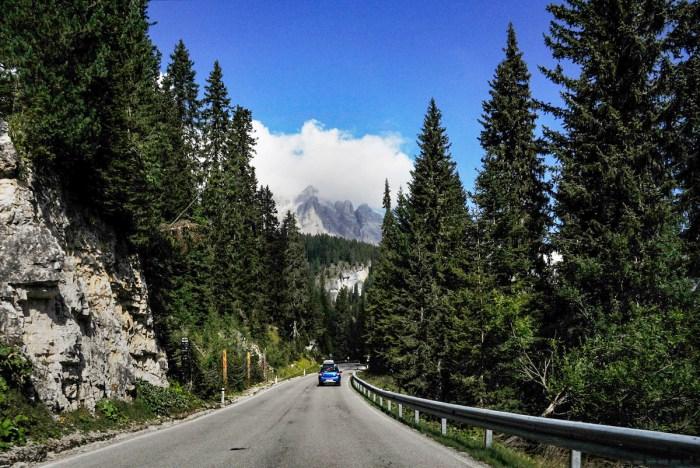 Italian Alpine countryside