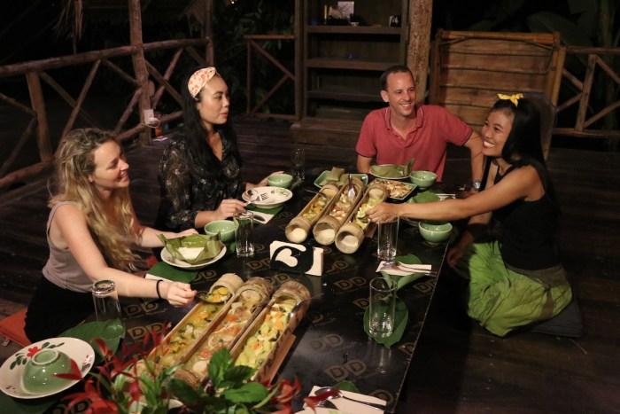 Jungle Dinner at Anurak Community Lodge
