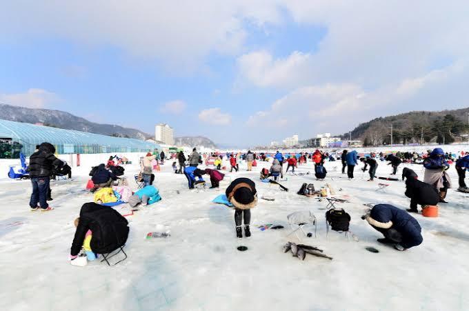 Pyeongchang Trout Festival photo via VisitKorea
