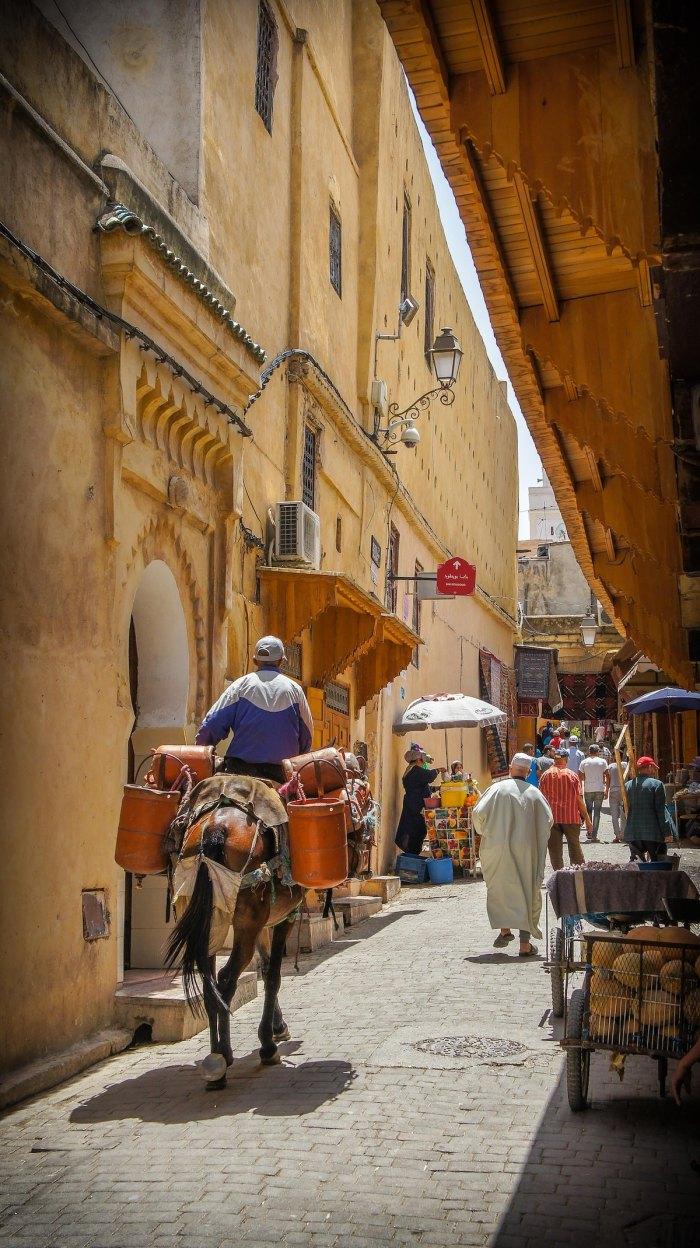 Streets of Morocco @vincegx via unsplash