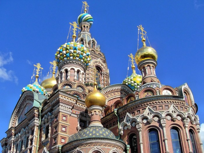 The Church of the Savior on Spilled Blood is one of the main sights of Saint Petersburg