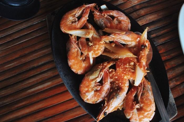 Garlic Shrimps at Melkens