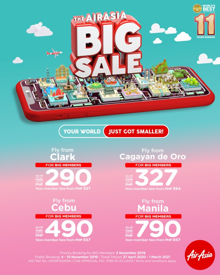 AirAsia announces BIG Sale