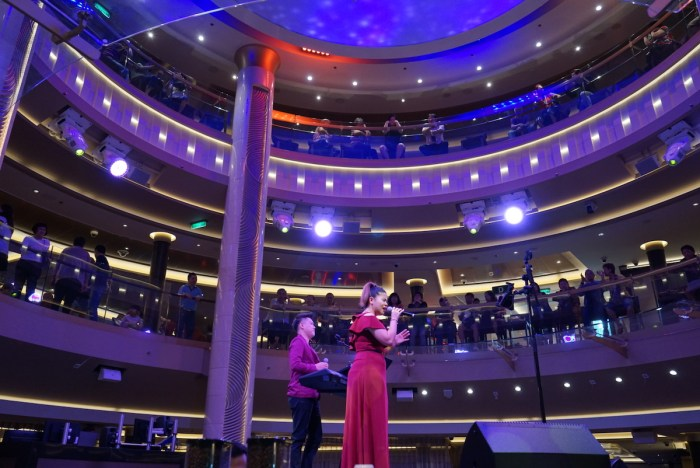 Home.fit Band-Performing-Onboard-Genting-Dream Genting Cruise Lines Announces Enhanced Preventive Measures, setting new standards for the fleet and the cruise industry