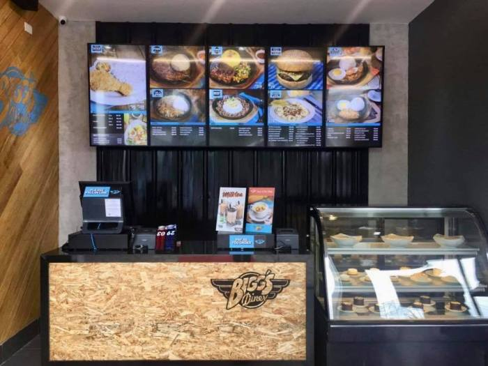 Bigg's Diner soon to open in SM Fairview
