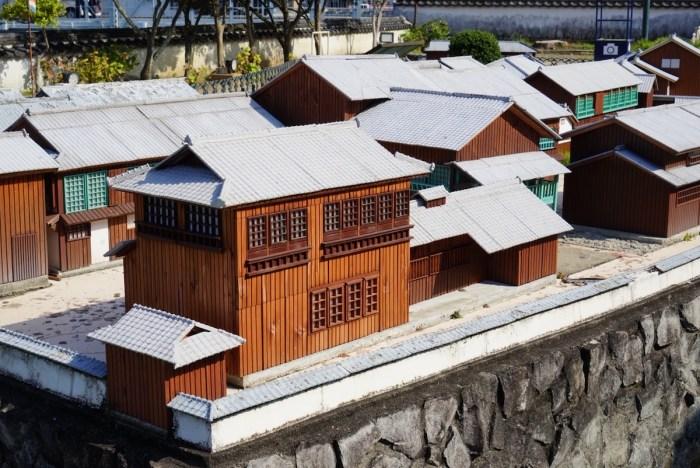 Diorama of Dejima