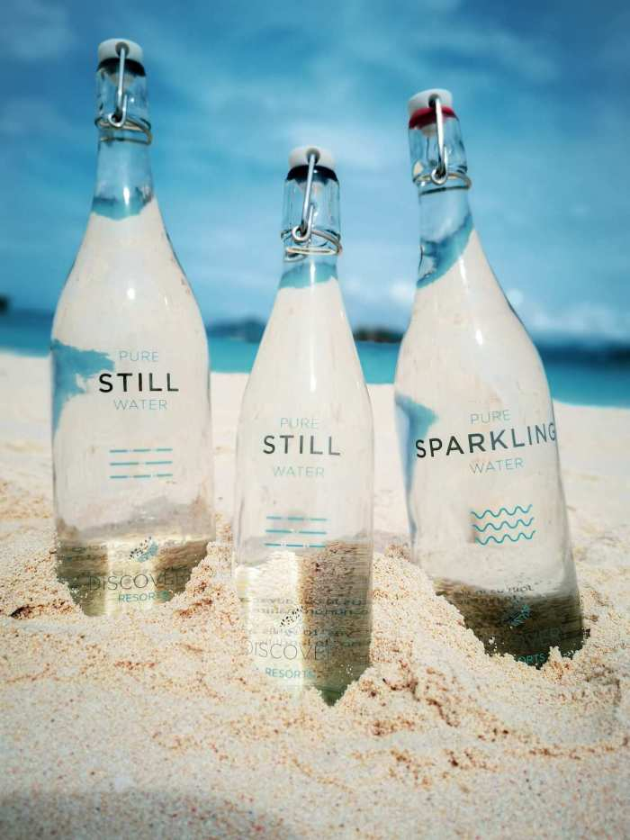 Discovery Shores Boracay and Club Paradise Palawan are now using EcoPure Water Bottling System