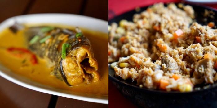 Ginataang Hito and Sizzling Crabmeat