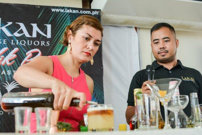 Kathryn Eckstein presents her Signature Lakan Cocktails