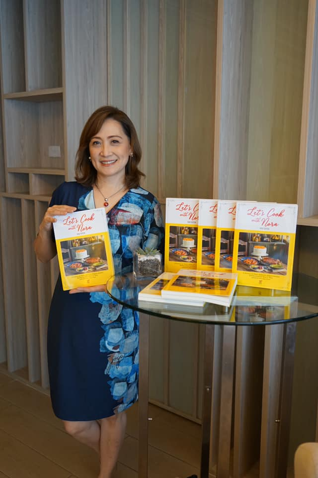 "Anvil Publishing House's ""Let's Cook with Nora,"" re-edited by Nina Daza-Puyat, daughter of the late culinary icon, Nora Daza"