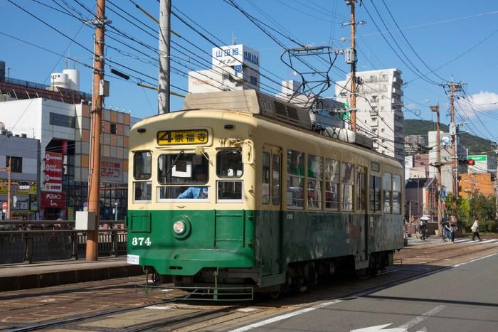 Retro Electric Streetcar - Nagasaki Travel Guide