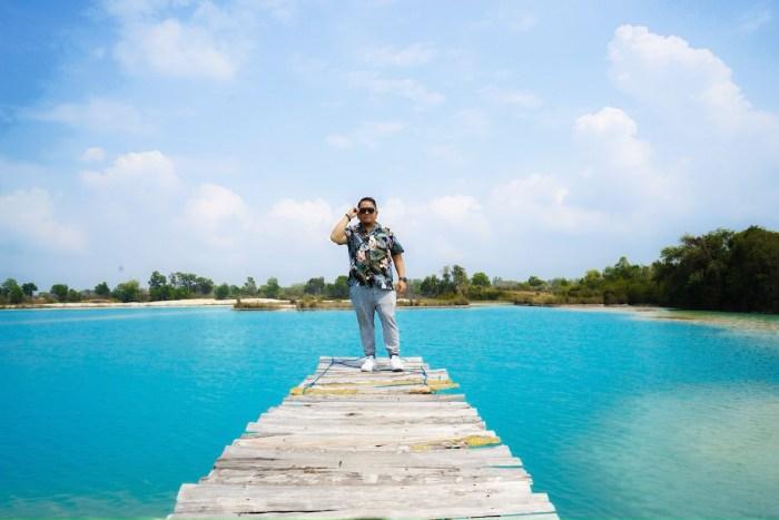 Excursión en tierra en Telaga Biru en Bintan Indonesia