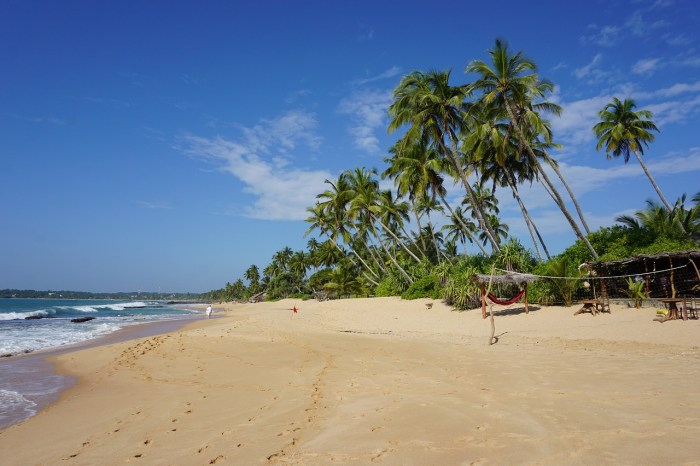 Tangalle Beach in Sri Lanka