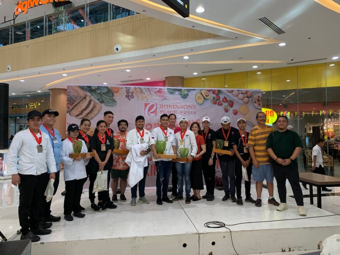 Winners of Nora Daza Cooking Competition in Robinsons Place Pavia Iloilo