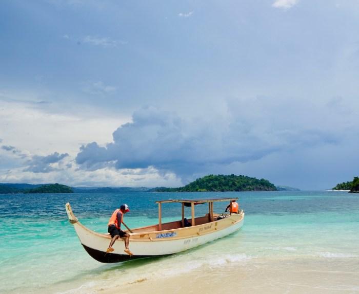 Bisaya Bisaya Island in Zamboanga
