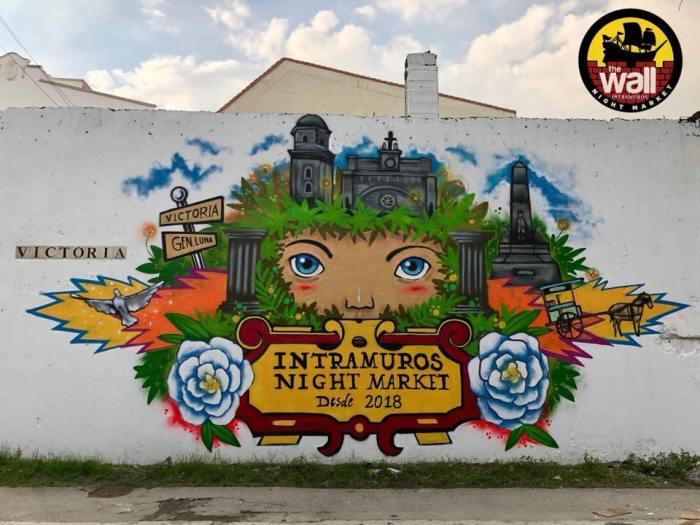 The Wall Intramuros Night Market photo via FB Page