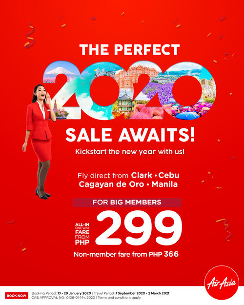 AirAsia Offers Perfect 2020 Sale