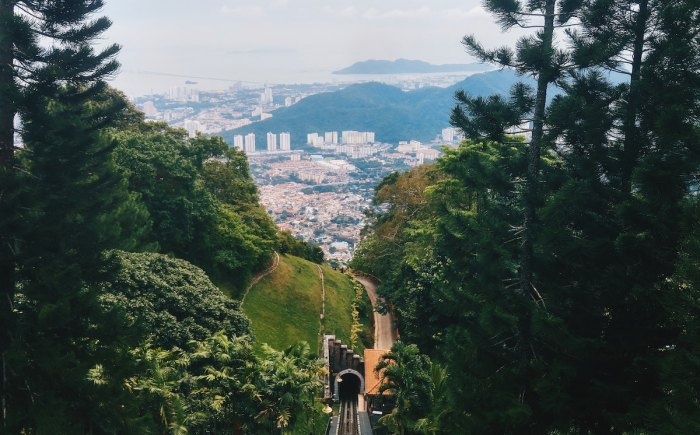 Penang Hill photo by @fidelzheng via Unsplash